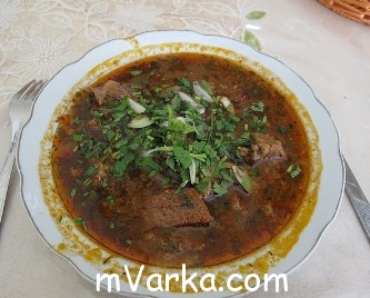 кавказский суп рецепт